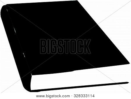Book Vector On White Background Object, Page, Paper, Paperback.