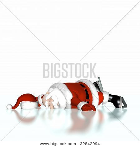 Santa Fell Ice Skating