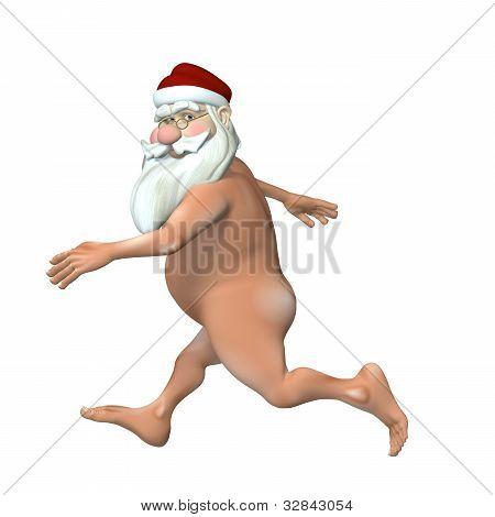 Santa Steaking