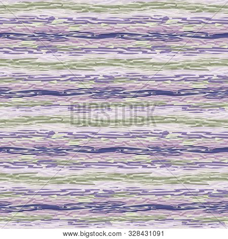 Spliced stripe geometric variegated background. Seamless pattern with woven dye broken stripe. Bright gradient textile blend all over print. Trendy digital disrupted line fashion swatch. Purple hue poster