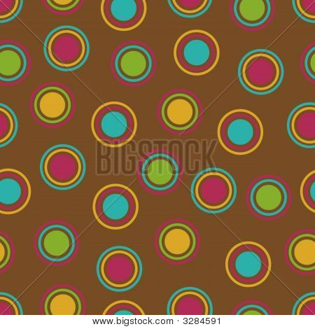 Bold Polka Dots Background