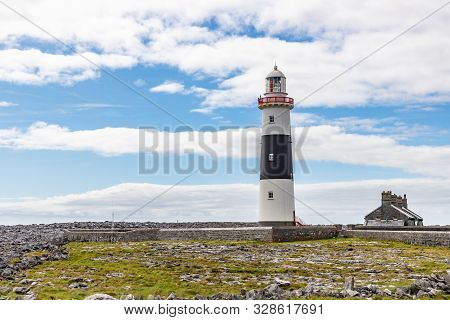 Lighthouse  In Inisheer Island