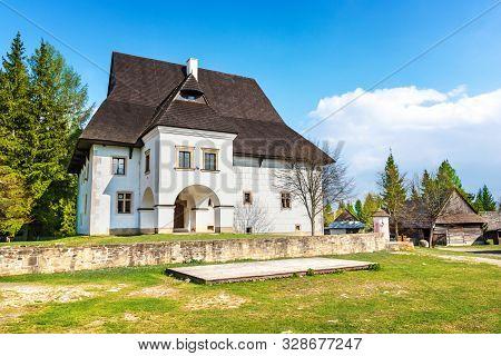 Old Traditional House Of Village Pribylina In Liptov Region (slovakia)