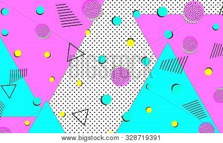 90s Hipster Banner. Ultramarine Textile Art. Bright Print. Flow Decor. Violet Vector Cover. Cute Tex