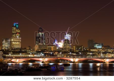 London Financial Business District