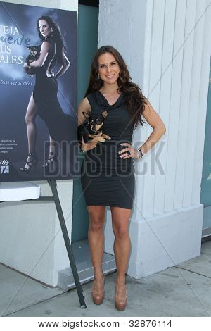 LOS ANGELES - MAY 10:  Kate del Castillo at the PETA Billboard