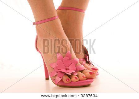 Pretty Female Feet In Heels