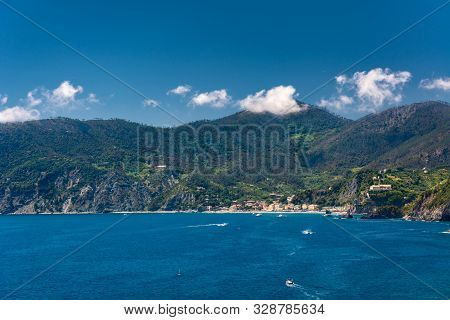 Vernazza Is One Of The Five Towns That Make Up The Cinque Terre Region. Vernazza And Remains One Of