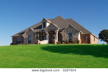 Executive Home On A Hill