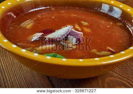 Pancita De Res, Menudo Mexicano Soup Meal