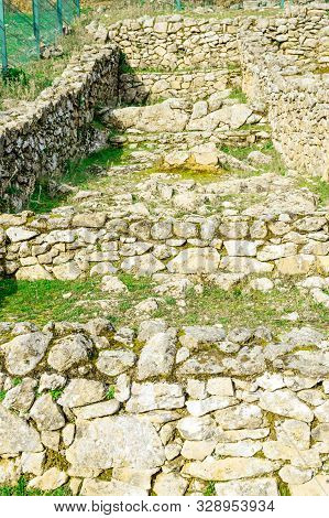 Dated Houses In The Iron Age Dated In The 3rd Century Bc In The Castro Veton De El Freillo. December