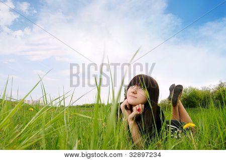 Girl Dreaming
