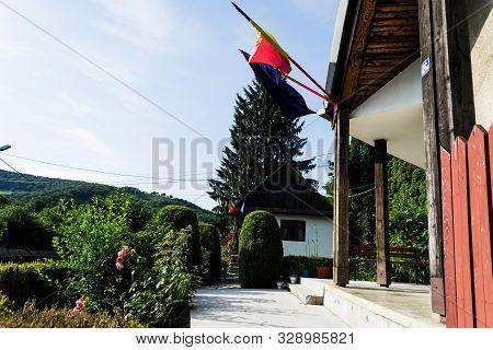 Prislop, Bistrita Nasaud, Romania - June 19, 2019: The Memorial House Of The Writer Liviu Rebreanu W
