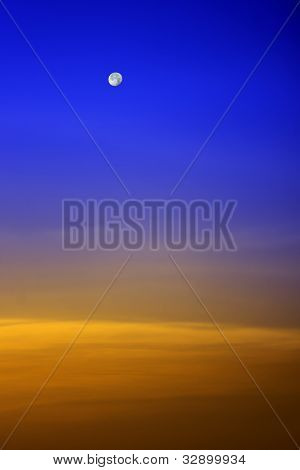 Sky sunset background picture