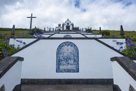 Nossa Senhora Da Paz (our Lady Of Peace Chapel), Vila Franca Do Campo, Sao Miguel, Portugal