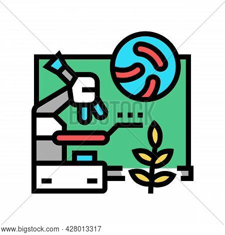 Biology School Lesson Color Icon Vector. Biology School Lesson Sign. Isolated Symbol Illustration
