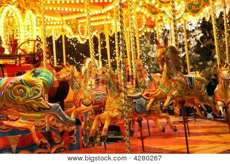 Carousel And Lights