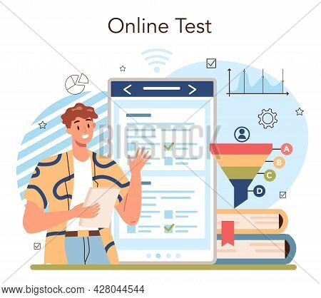 Marketing Education School Course Online Service Or Platform