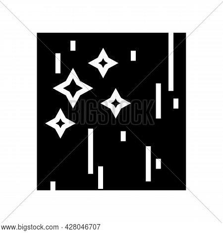 Polished Concrete Glyph Icon Vector. Polished Concrete Sign. Isolated Contour Symbol Black Illustrat