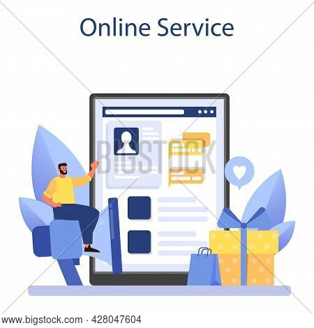Pr Event Online Service Or Platform. Celebration Or Meeting Organization