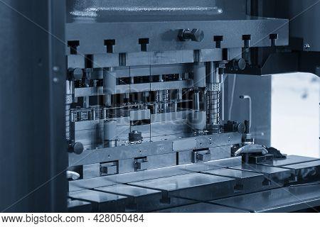 The Sheet Metal Working Process By Progressive Die. The Sheet Metal Operation By Transfer Die.