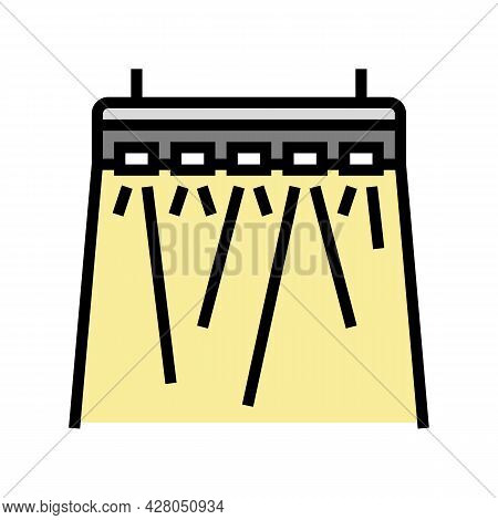Concert Lighting Color Icon Vector. Concert Lighting Sign. Isolated Symbol Illustration