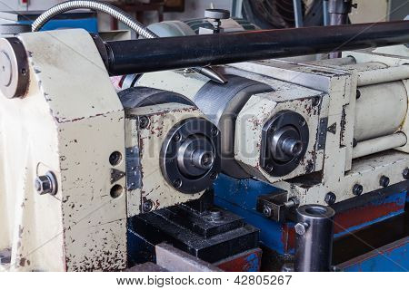poster of Thread rolling (nut and bolt making) machine