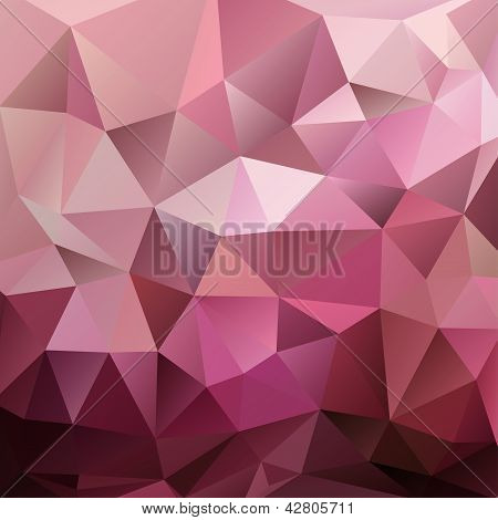 Abstract red triangle background, vector illustration eps10 poster