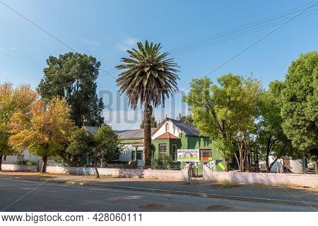 Middelburg, South Africa - April 22, 2021: A Street Scene, With The Ab Educare Centre, In Middelburg