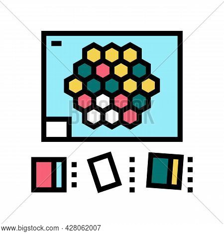 Tween Games Color Icon Vector. Tween Games Sign. Isolated Symbol Illustration