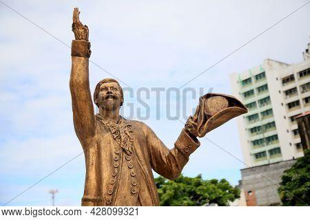 Statue Of The Gregorian Poet Of Matos