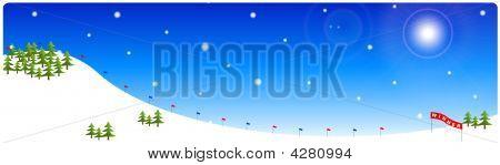 Alpine Skiing Track