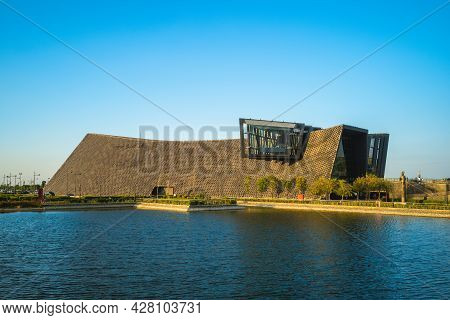 Chiayi, Taiwan - November 24, 2019: Southern Branch Of The National Palace Museum. It Was Open In Ap