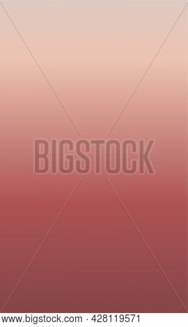 Background With Smooth Gentle Gradient Of Red, Terracotta And Pink Colors