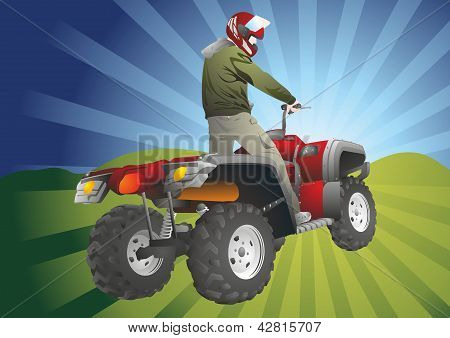 Atv Off-road Rider
