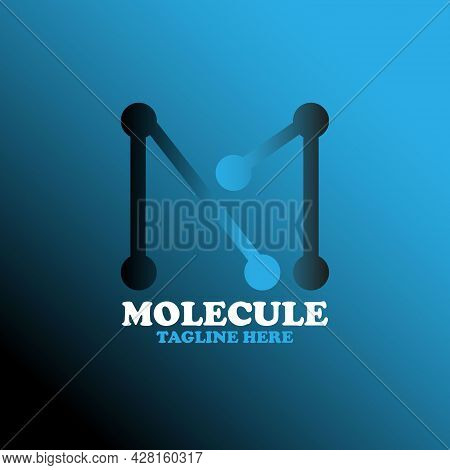 M Letter Design Logo Vector. M Logo Laboratory