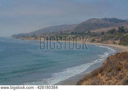 El Capitan State Beach On The Gaviota Coast In Goleta, Santa Barbara County, California