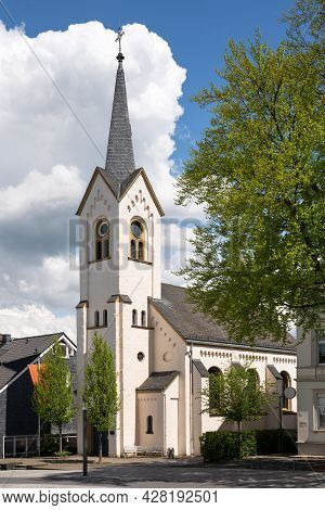 Old Church In The Downtown Of Wipperfurth, Bergisches Land, Germany