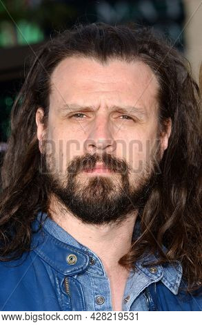 LOS ANGELES - MAY 07: Rob Zombie arrives to  'The Matrix Reloaded' Hollywood Premiere on May 07, 2003 in Westwood, CA