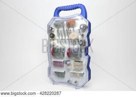 Mini Electric Drill Accessories Set Of Grinding Pins, Grinding Wheels, Felt Polishing Wheels, Grindi