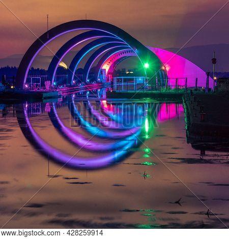 Green Light At Falkirk Wheel
