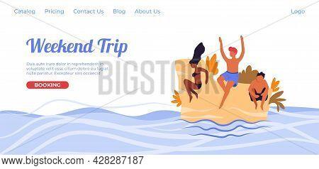 Weekend Trip, Travel Agency Proposing Tour Online