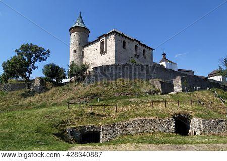 Kunetická Hora Castle Is A Dominant Landscape Near Pardubice, Czech Republic