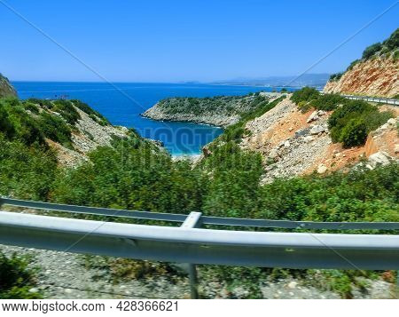 A Beautiful Bay Between Kas Finike Road