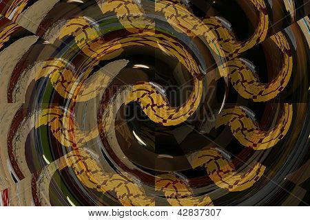 Multiple snakes in abstract