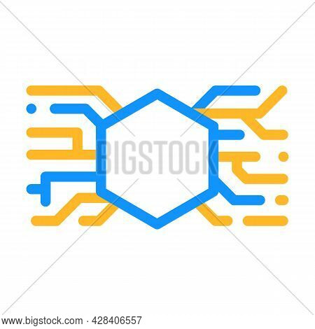 Abstract Symbolism Color Icon Vector. Abstract Symbolism Sign. Isolated Symbol Illustration
