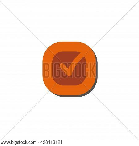 Check Mark Clipart. Check Mark Simple Vector Clipart. Check Mark Isolated Clipart.