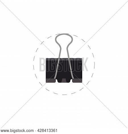 Paper Binder Clipart. Paper Binder Simple Vector Clipart.