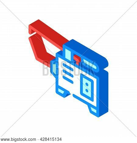 Spot Welding Isometric Icon Vector. Spot Welding Sign. Isolated Symbol Illustration