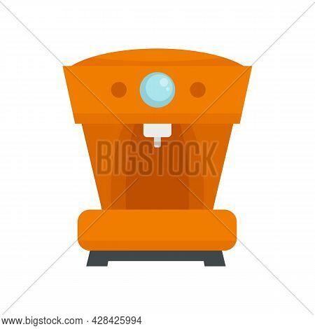 French Coffee Machine Icon. Flat Illustration Of French Coffee Machine Vector Icon Isolated On White